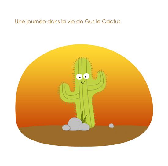 Le soleil se lève chez Gus le Cactus