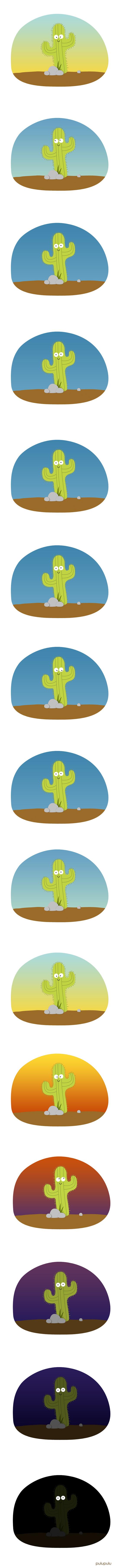 Encore une grosse journée pour Gus le Cactus