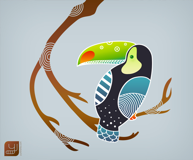 Wallpaper toucan pour android