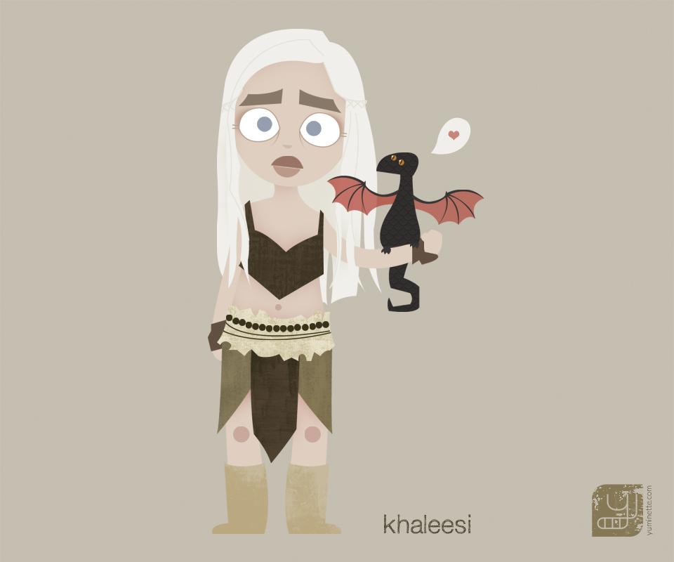 fond d'écran khaleesi pour HTC