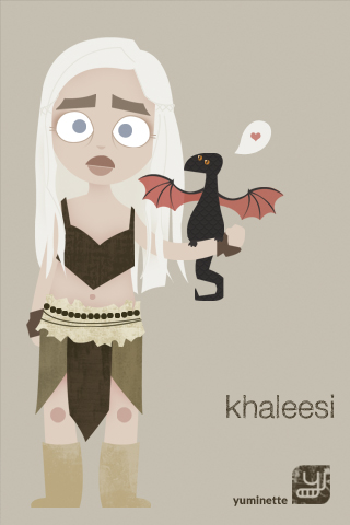 fond d'écran khaleesi pour iphone
