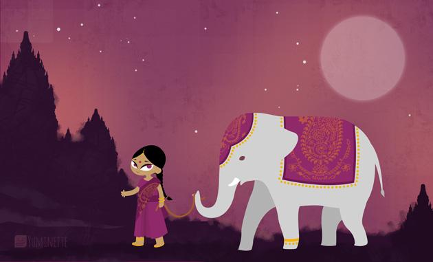 Lali et l'éléphant