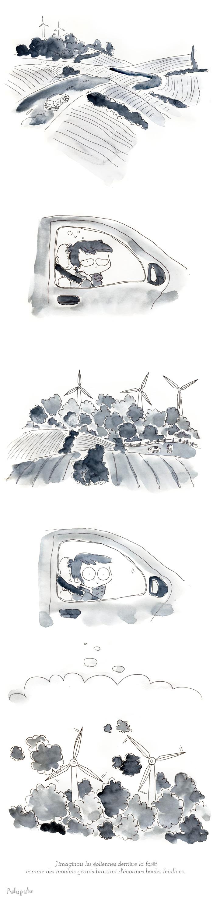les moulins forestiers