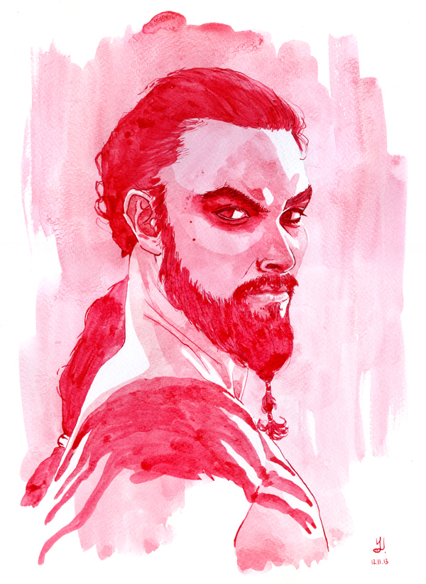 khal drogo (Jason Momoa) - Game Of Thrones