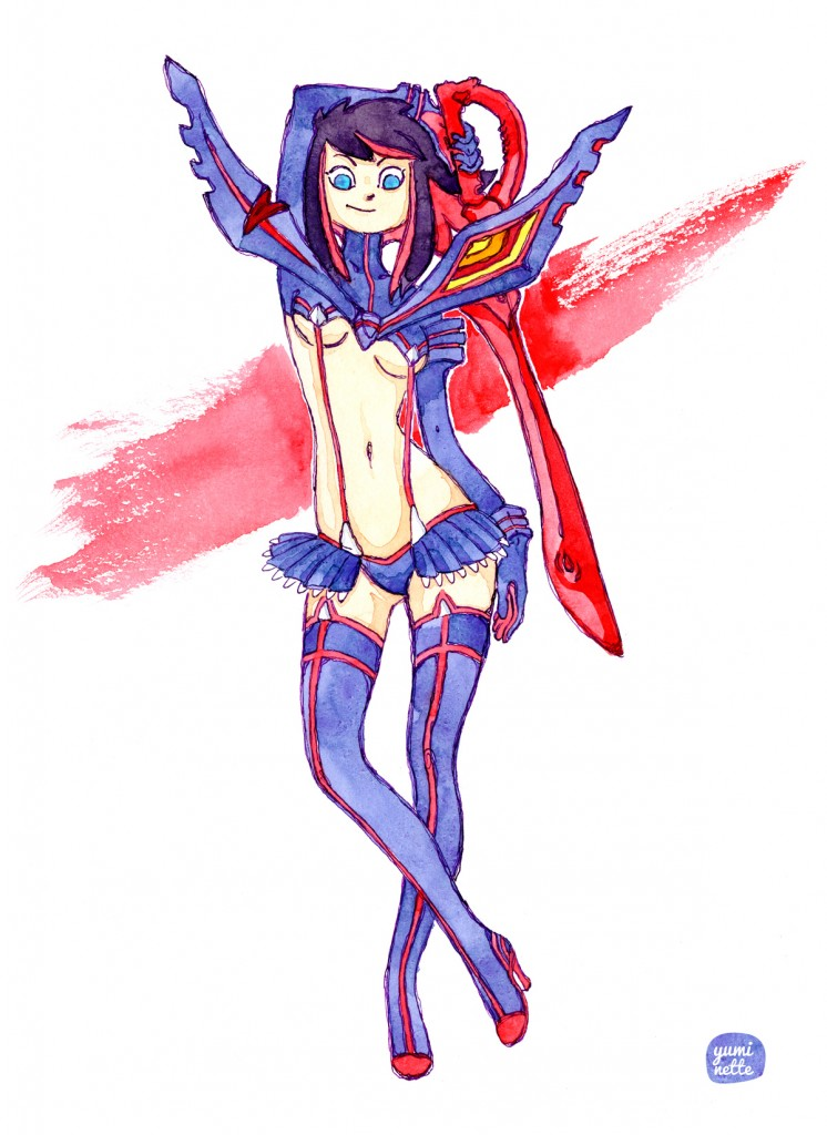 kill la kill - ryuko - trinquette publishing