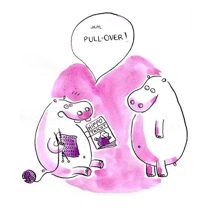 hippo-tricot